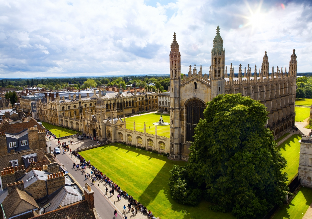 Groepsreis Oxford & Cambridge